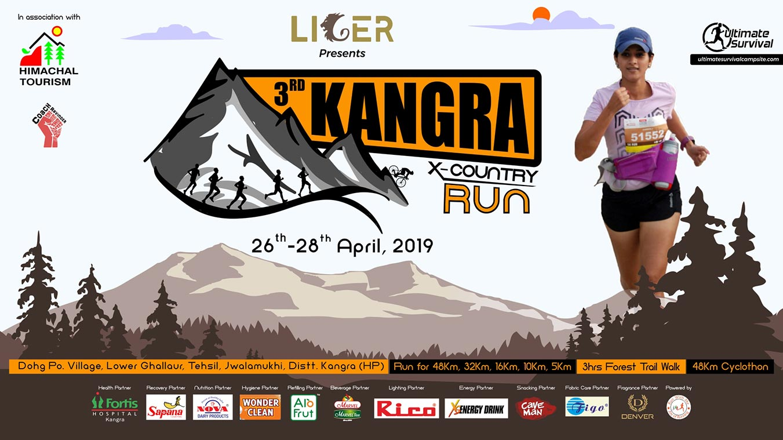 3rd Kangra X-Country Run, 26 - 28 April 2019, Dohg village